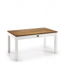 Mesa de comedor New White combinada