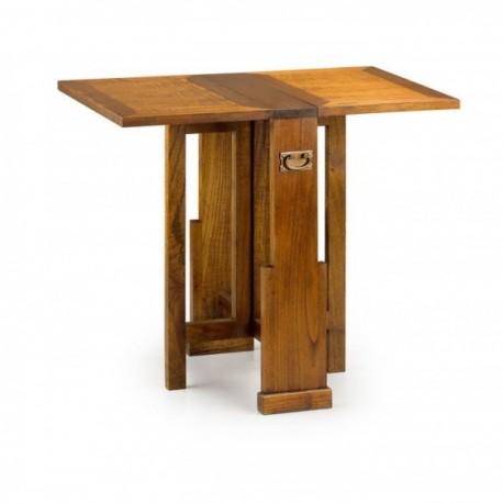 Mesa auxiliar plegable 2 alas el abuelo carpintero - Mesa auxiliar plegable ...