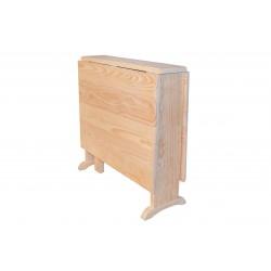 Mesa plegable pino macizo